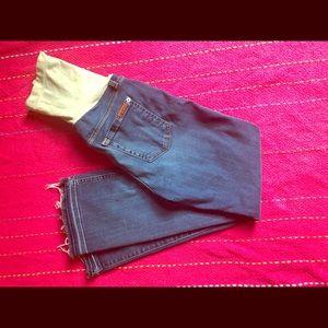 7 FAM maternity jeans!